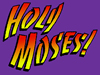 Holy! Moses T-shirt (PURPLE)