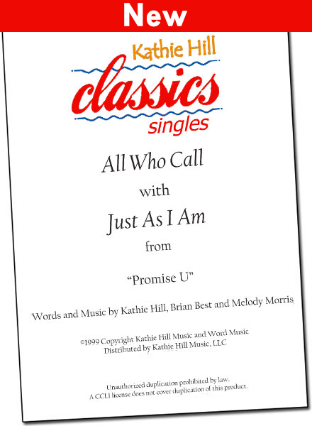 All Who Call - Digital Singles