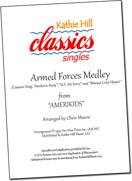 Armed Forces Medley (Patriotic)
